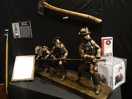 Scaled Replica of the Firefighter Memorial